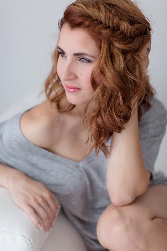 coiffure et maquillage pour séance photo à Québec